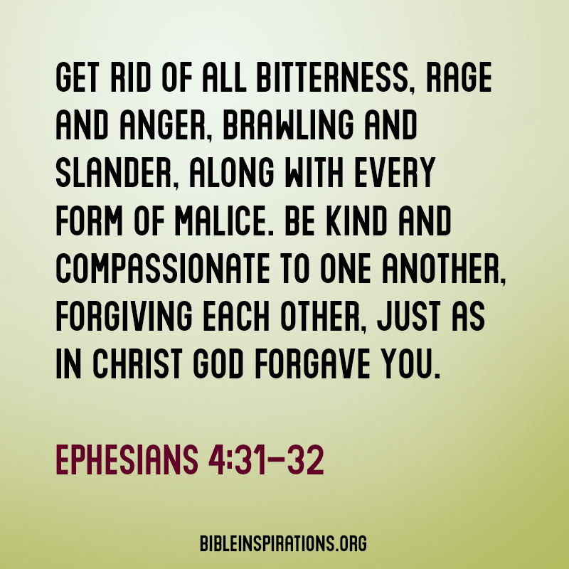 How to get over anger and bitterness