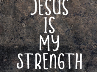 jesus-is-my-strength