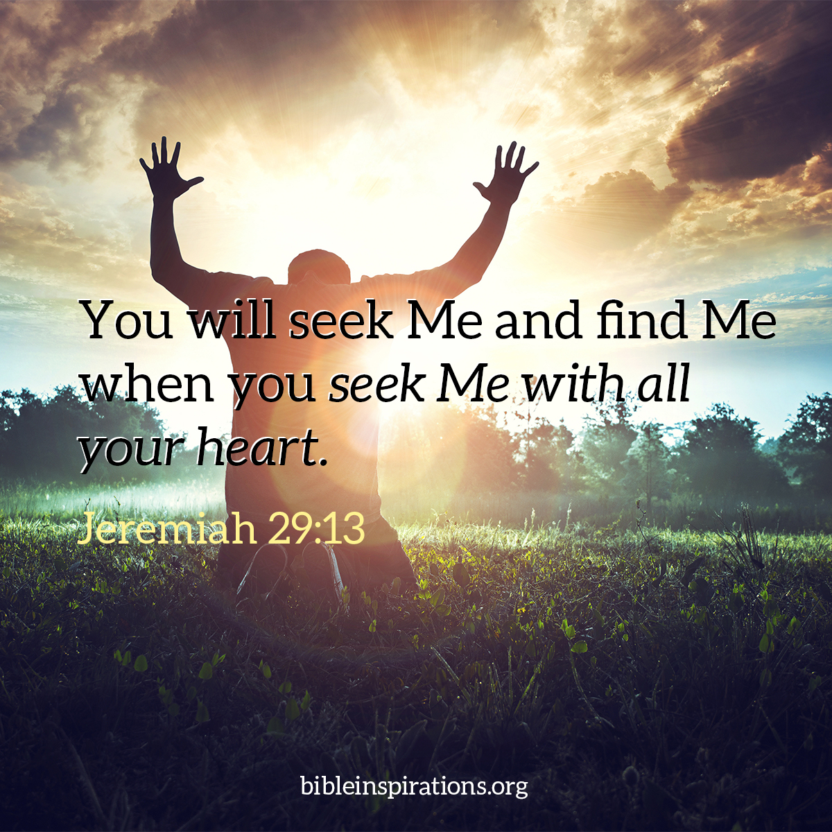 jeremiah-29-13 You will seek Me and find Me when you seek Me with all your heart.