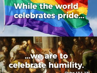 Pride and Humility.